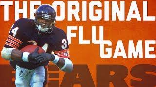 Walter Payton Highlights from the Original 'Flu Game' | Happy Birthday Sweetness! | NFL