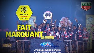 Le PSG champion pour la 8e fois de son histoire reçoit l'Hexagoal devant son public / 2018-19
