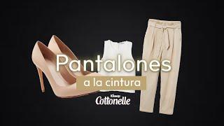 Pantalones a la cintura by Kleenex® Cottonelle®