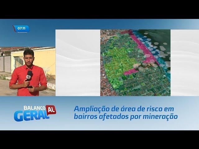 Reunião define ampliação de área de risco em bairros afetados por mineração