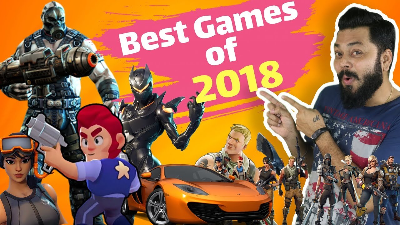 THE BEST MOBILE PHONE GAMES OF 2018 ????️????????️ Action, Strategy, Puzzle, Racing, FPS & More.