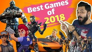 THE BEST MOBILE PHONE GAMES OF 2018 🕹️🎮🕹️ Action, Strategy, Puzzle, Racing, FPS & More...