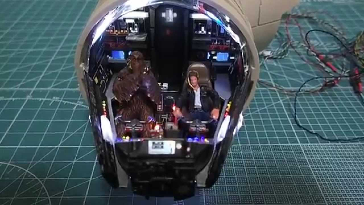 Deagostini Build Millennium Falcon Cockpit Figures Youtube