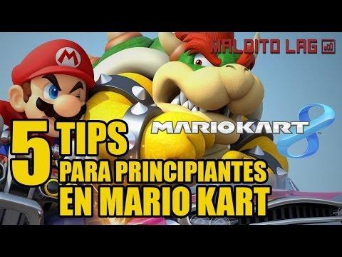 Mario Kart 8 - 5 tips para principiantes - tutorial en español