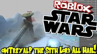 OWTREYALP THE SITH LORD! ALL HAIL! | Roblox: Star Wars RP