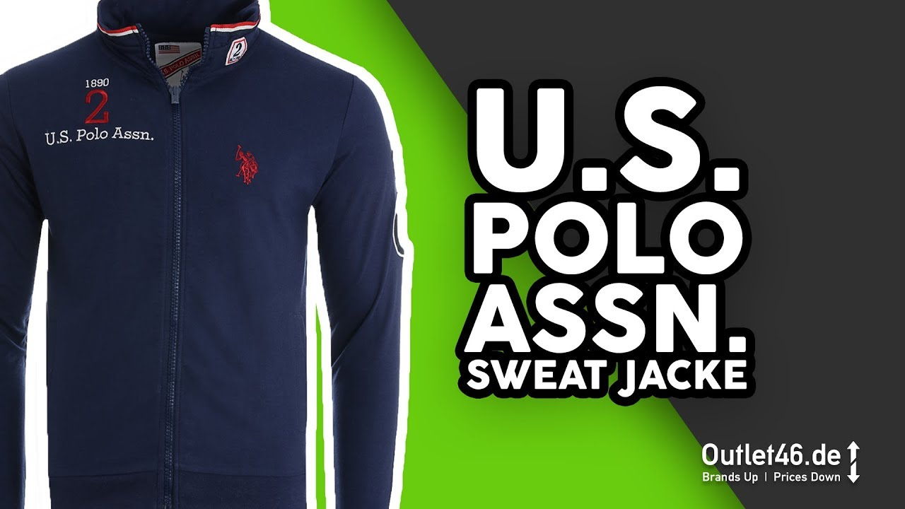 06e05a2f459c U.S Polo ASSN. Full Zip Sweatshirt Jacke DEUTSCH l Review l On Body l Haul  l Overview l Outlet46