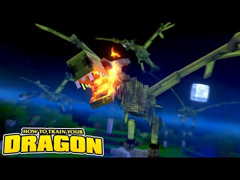 ZOMBIE DRAGONS ATTACK OUR BASE! How To Train Your Dragon w/TinyTurtle