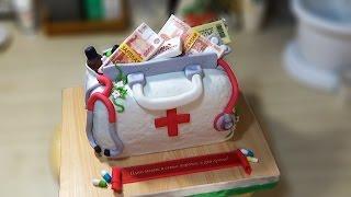 "3д Торт ""Сумочка медика"" / 3D Cake ""Purse medic"" - Я - ТОРТодел!"