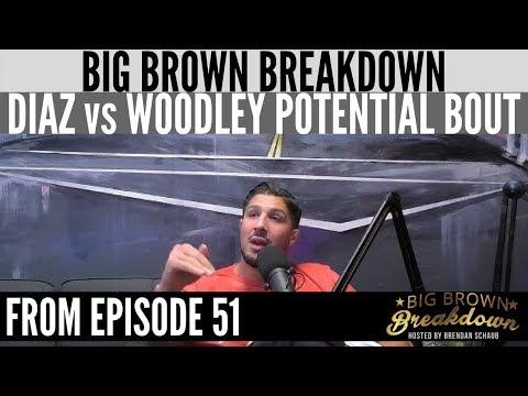 "Brendan Schaub on Nate Diaz vs Tyron Woodley - ""I'll Watch It, But It Makes No Sense"""