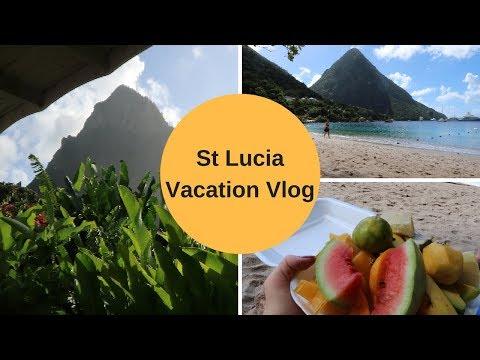 Travel Vlog   St Lucia Part I