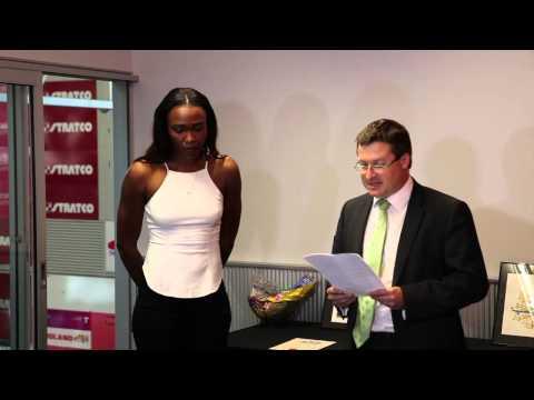 Carla Borrego's Australian Citizenship Ceremony