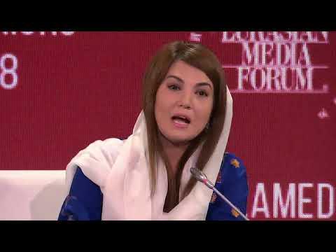 Why Reham Khan left Main Stream Media? | XV Eurasian Media Forum | Almaty Kazakhstan