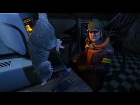 Друг Рататуй и косяк. Мармок Half-Life Alyx