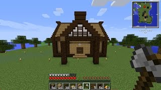 ماين كرافت #62 بناء بيتي الخشبي الصغير