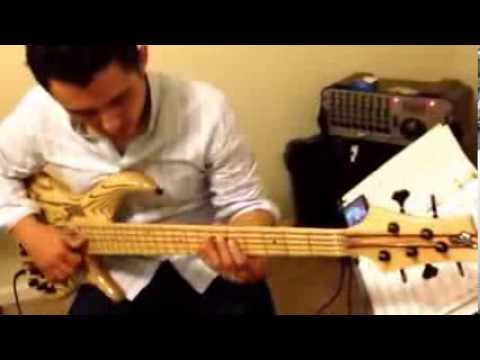 F bass BN 5 natural/maple
