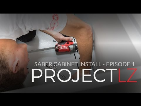 The LZ Garage Project: Saber Cabinets E1