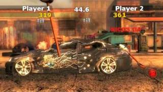 FlatOut Wii Trailer - Carbasher