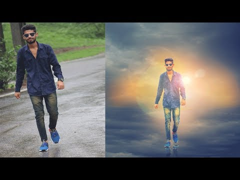 How to edit a photo with amazing effects in Photoshop CC By Techno Mahesh(part-2)