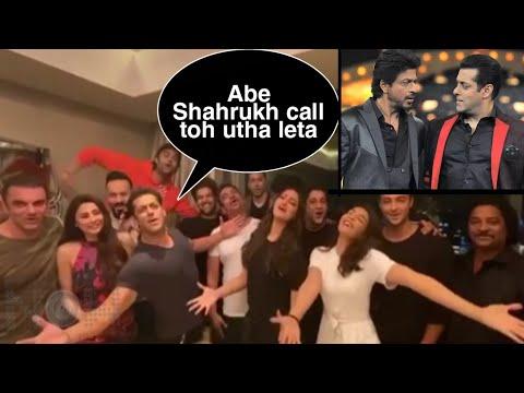 Salman Khan Wishes Shahrukh Khan On His Birthday, Taunts Shahrukh for Not Receiving His Call Mp3