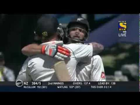 India vs New Zealand   2nd test   2nd Session Highlights   Day 4   17th Feb 2014