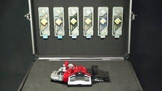 仮面ライダーWダブル 全エターナルメモリ&ドライバーケース Kamen Rider Double All Eternal Memory & Driver Case thumbnail