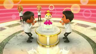 Wii Party U - Tabletop Tournament - Vs Master Cpu