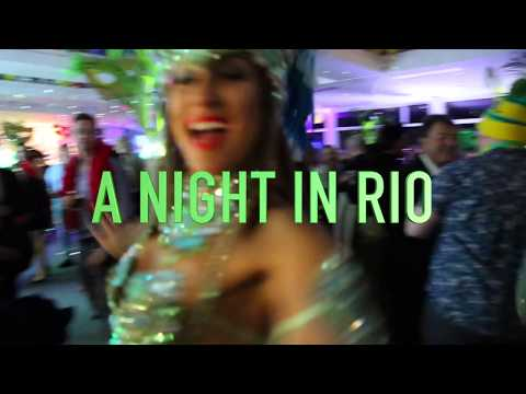 'NIGHT IN RIO'- Samba Brazil Entertainment for Rio's Legacy Charity Ball