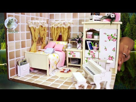 DIY Dollhouse Bedroom Miniature – How to Design Doll Room