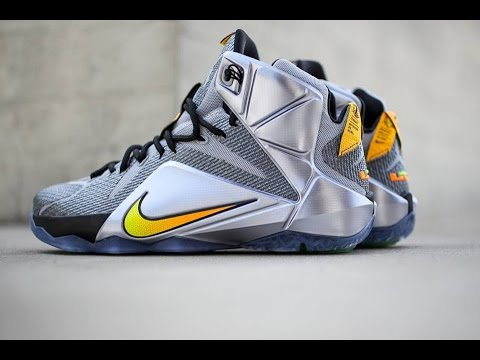 "e21597aea54 Nike LeBron 12 ""Flight"" + Release Info - YouTube"