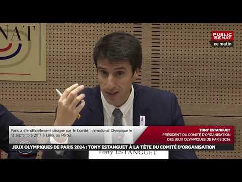 Audition de Tony Estanguet, co-président du Comité de candidat... - Les matins du Sénat (17/01/2018)