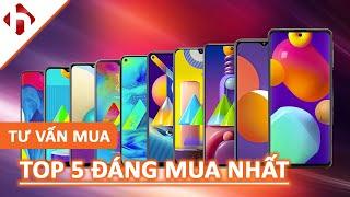 TOP 5 điện thoại Samsung 4 triệu - 8 triệu nên mua nhất