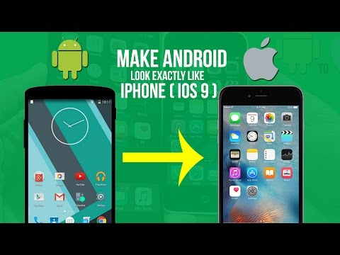 How to Make your Android device look exactly like an iPhone (iOS 10/9) 2016