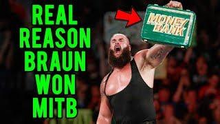 Real Reason Braun Strowman Won The Money In The Bank Briefcase!