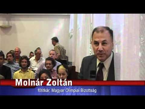 Molnár Zoltán, a Magyar Olimpiai Bizottság főtitkárának hozzászólása