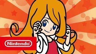 WarioWare Gold - Mona Character Trailer (Nintendo 3DS)