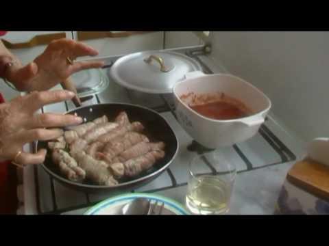 Lezione 37 Braciole Napoletane Cucina Napoletana di