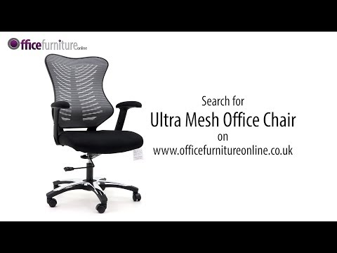 Ultra Mesh Office Chair Features And User Guide