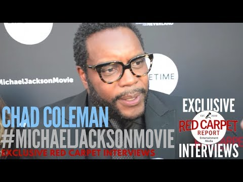Chad Coleman interviewed at Lifetime's Michael Jackson: Searching for Neverland