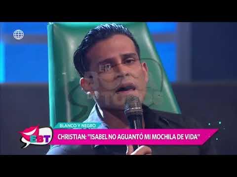 Christian Domínguez confesó