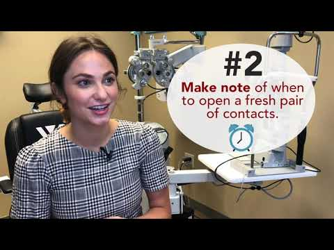 Dr. Hendricks' Top 3 Tips for Safely Wearing Contacts