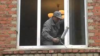 Монтаж окна в кирпичном доме(Купон на скидку до 40% на сайте Аттик! Наш сайт: http://attik.ru/ Мы в контакте: http://vk.com/attik.okna Окна Аттик предлагает:..., 2012-06-25T08:36:32.000Z)
