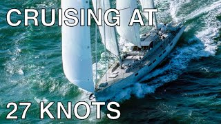 Southern Ocean Surfing - 27 knots on a cruising sailboat!