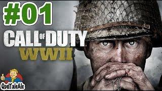 Call of Duty World War II - Gameplay ITA - Walkthrough #01 - Lo sbarco in Normandia