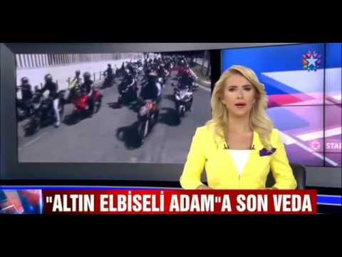 AEA ALTIN ELBİSELİ ADAM'A SON VEDA