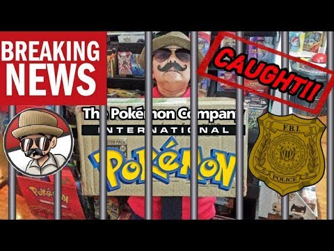 CARL GOT CAUGHT STEALING POKEMON CARDS FROM THE POKEMON COMPANY! SO THEY SENT US THIS...