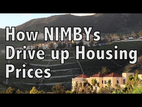 How NIMBYs drive up housing prices in California