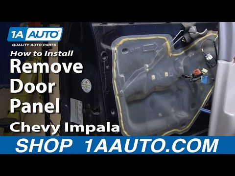How To Remove Door Panel 00-05 Chevy Impala