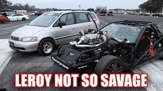 The Minivan Beat Leroy!
