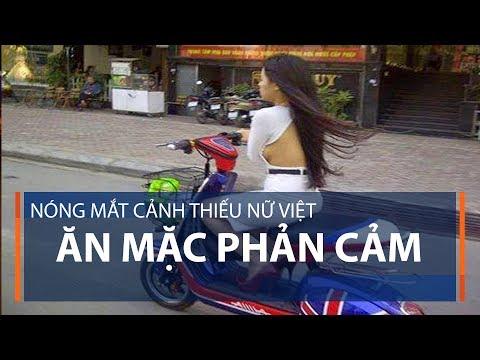 Nóng mắt cảnh thiếu nữ Việt ăn mặc phản cảm | VTC
