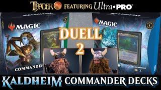 MTG Kaldheim Commander Decks Duell 2 | Magic the Gathering deutsch | Trader | Tutorial Match 2021